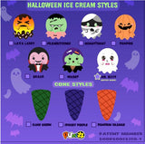 Puni Maru SCENTED Halloween Ice Cream Stack with Magnet! BLIND BAG!