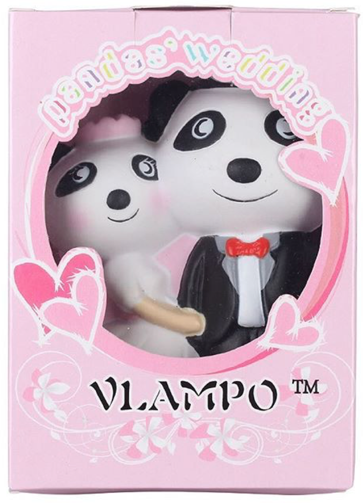 Vlampo Slow Rise SCENTED Pandas' Wedding!