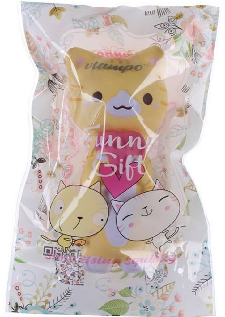 Vlampo Slow Rise SCENTED Kawaii Kitten Cat!