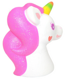 Kiibru SCENTED & SLOW RISE Jumbo, SO BIG Unicorn! PINK GLITTER! *EXTREMELY LIMITED STOCK!*
