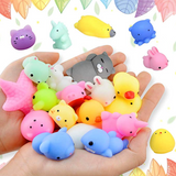 Super Mini Kawaii MOCHI Jelly Squishy! GRAB BAG of 5!