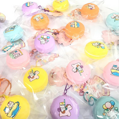 * NEW * Mini SLOW Rising Poli Carnival Sweet Macaron!