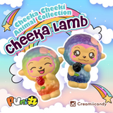 SCENTED Galaxy or Rainbow CHEEKA Lamb! So GLITTERY and SHIMMERY!!