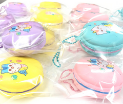 * NEW  * Mini SLOW Rising Mermaid Poli Macaron with NEW FILLING COLORS!