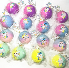 Licensed Mermaid Poli Bun Squishy! NEW BEAUTIFUL COLOR GRADIENTS!