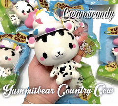 SCENTED YUMMIIBEAR the Country Cow Squishy!