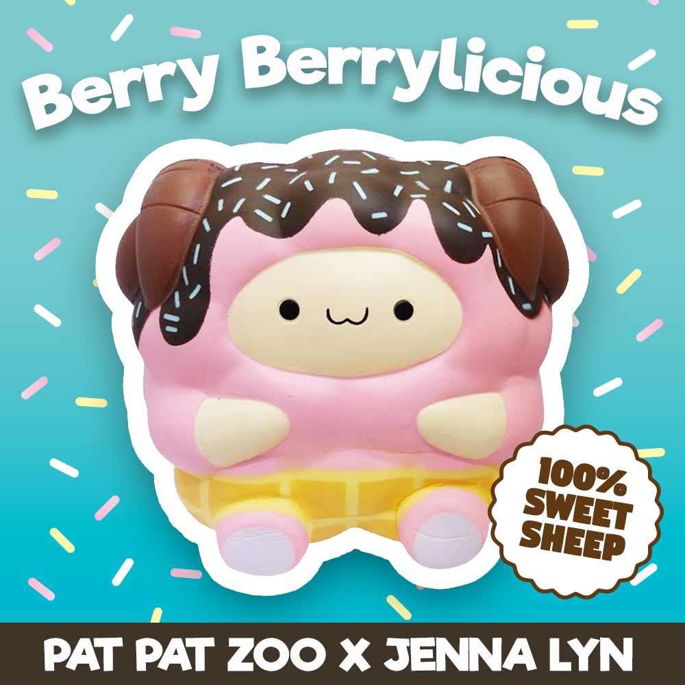 Jenna Lyn's DESSERT SERIES Scented and HUGE Pop Pop Sheep! *FINAL STOCK*