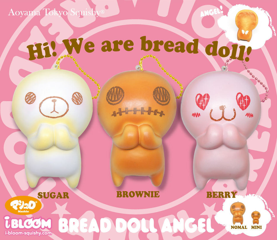 iBloom SCENTED Bread Doll Angels! Mini too!