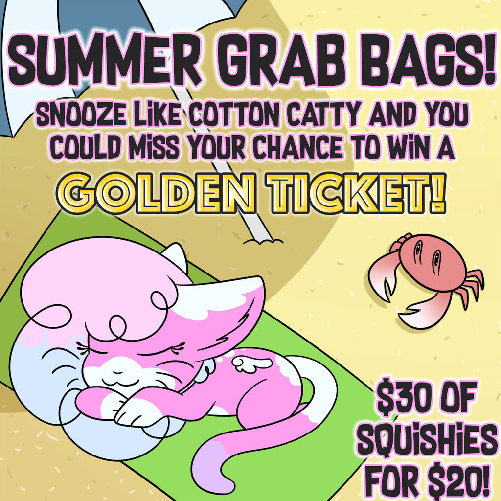 Special Summer GRAB BAG of LICENSED Squishies!