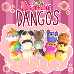 SLOW RISING, SCENTED Puni Maru KAWAII DANGO!