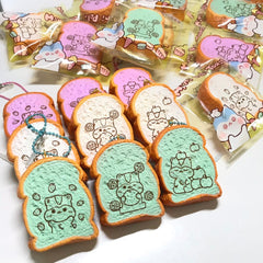 NEW and Adorable, SCENTED Mini POLI Fruity Toasts! BUY 3 for a DEAL!