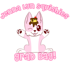 Pinku Inu's GRAB BAG of 2 to 7 LICENSED Squishies!