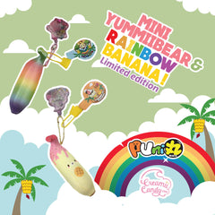 Puni Maru Mini YUMMIIBEAR and RAINBOW Banana! SCENTED!