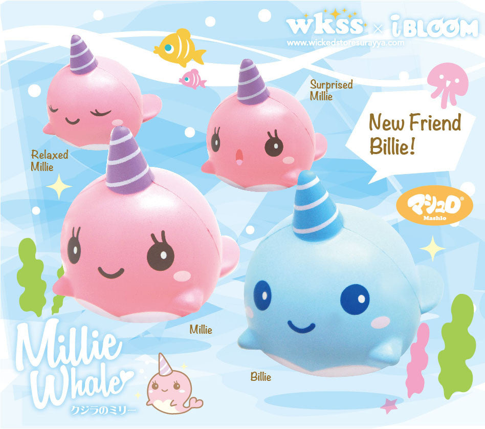 iBloom Millie or Billie the Whale
