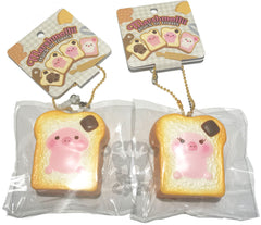 MINI Slow Rise SCENTED Marshmellii ORIGINAL Toast Piggy!