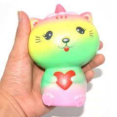 Kiibru SCENTED and SLOW RISE Jumbo Rainbow Kitty!