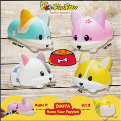 Fat Paw Paw SCENTED Zooya Puppies!