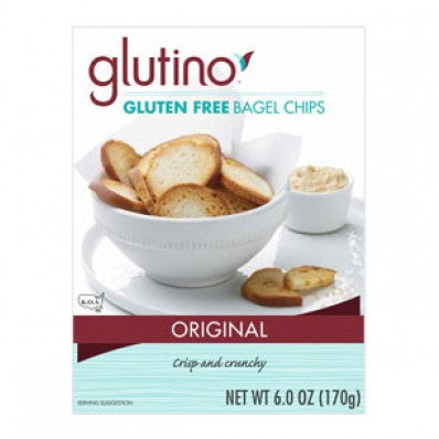 Glutino Bagel Chips Original
