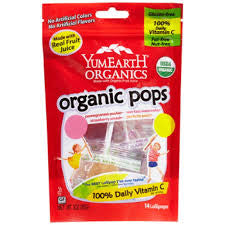 Yummy Earth Organic Lollipops Bags Assorted Fruit