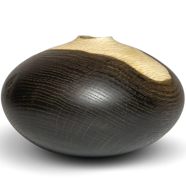 Oxidized Oak Vessel