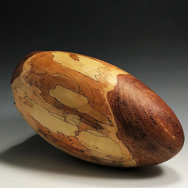 Faulted Apple Wood Pod