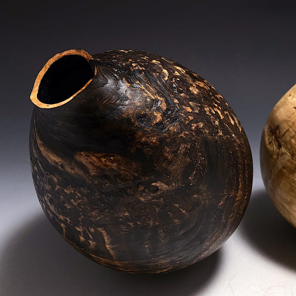Different But the Same - Cherry Burl Vessels