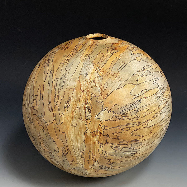 Faulted Box Elder Hollow Vessel