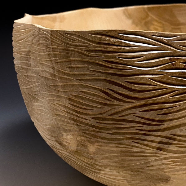 The Wavy Maple Bowl