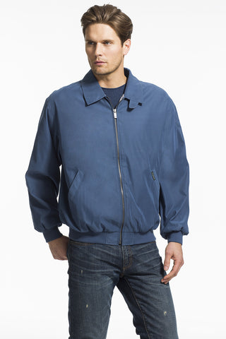 Men's Microfiber Classic Golf Jacket in Fashion Colors