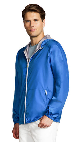 Men's Aqua Shed Hooded Slicker