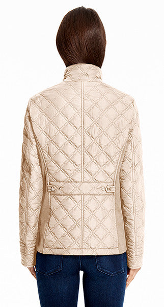Women's Quilted Jacket with Supreme Stretch