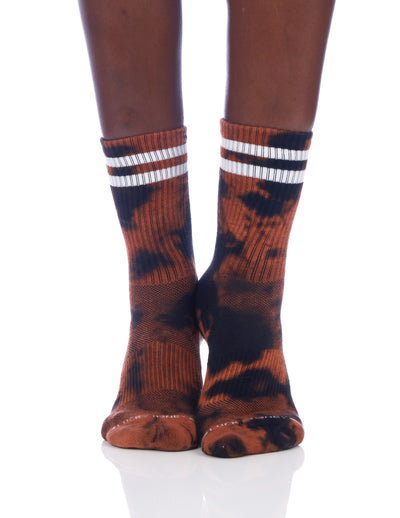 LIMITED EDITION Tiger Tie Dye Dad Sock - Lucky Honey