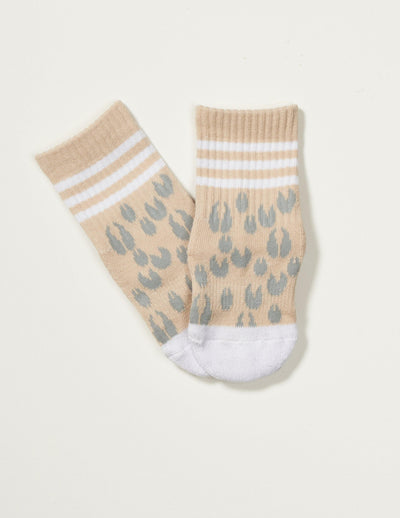 The Animal Kids Grippy Sock - Lucky Honey