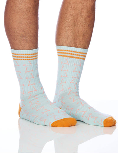 The Scooter Men's Sock - Lucky Honey