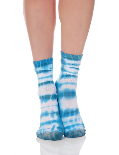 Limited Edition Blue Tie Dye Tube Sock - Lucky Honey