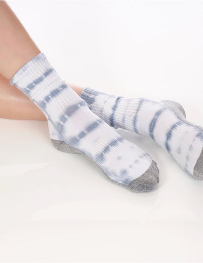 Limited Edition Denim Tie Dye Tube Sock - Lucky Honey