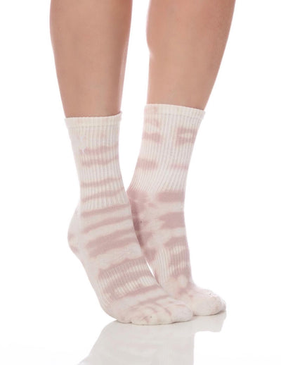 Limited Edition Tan Tie Dye Tube Sock - Lucky Honey
