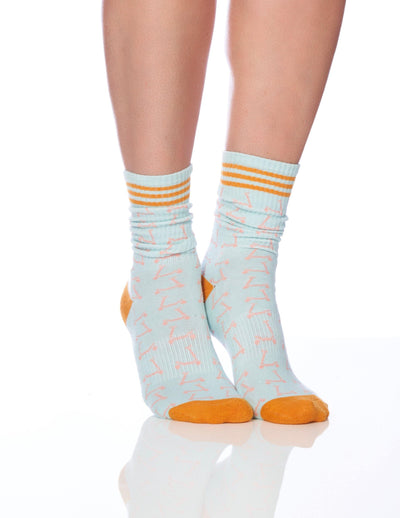 The Scooter Women's Sock - Lucky Honey