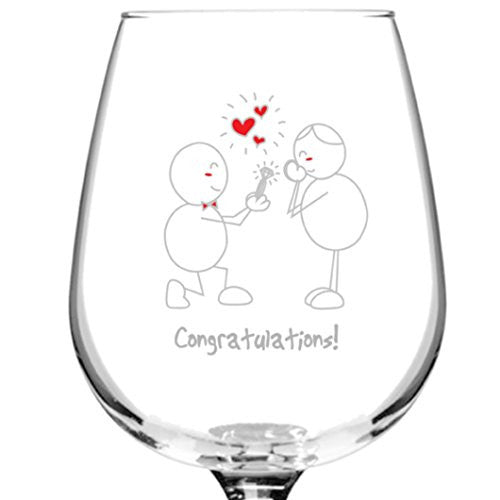 Cheap Romantic 12.75 oz Libbey Wine Glasses Made in USA. Gift Idea. Made in USA