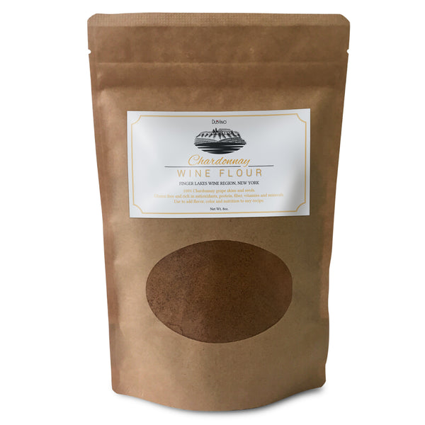 Chardonnay Wine Flour / Wine Powder Made 100% from Grape Skins and Seeds