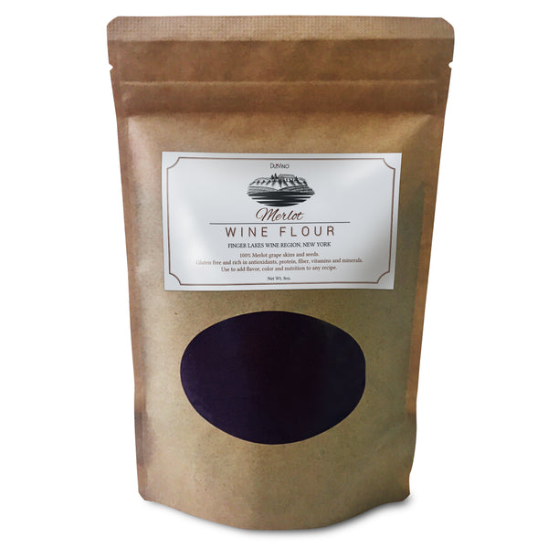Merlot Wine Flour / Wine Powder Made 100% from Grape Skins and Seeds