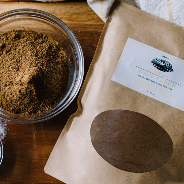 Riesling Wine Flour / Wine Powder Made 100% from Grape Skins and Seeds