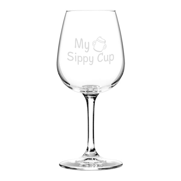 Cheap Funny 12.75 oz Libbey Wine Glasses Made in USA. Duvino
