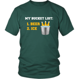 My Bucket List - Funny Beer Shirt for Men