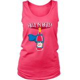 Help is Here - Super Merlot! - Cute Funny Wine Shirt/Tank Top for Women