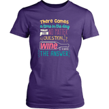 Wine Is Always The Answer - Cute Funny Wine Shirt/Tank Top for Women