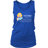 Mother Definition - Funny Wine Shirt/Tank Top for Women