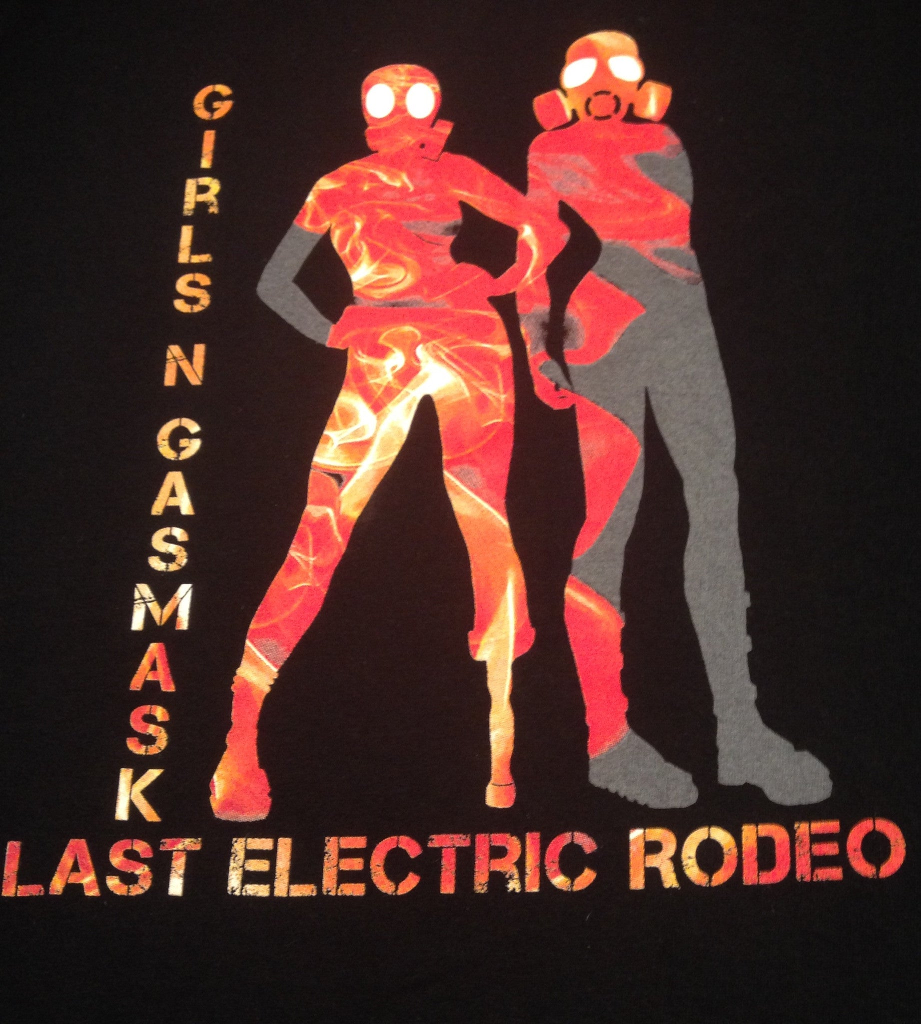 Last Electric Rodeo Tee Shirt