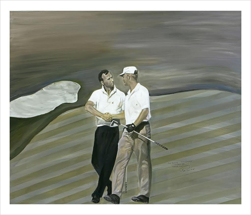 Leah Holland: Jack Nicklaus & Arnold Palmer
