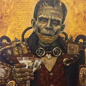 Mike Bell Print: Alchemy of the Dead